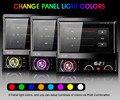 7 Pulgadas de Coches Reproductor de Radio Reproductor de DVD MP5 Android 4.4.4 GPS WiFi Pantalla Táctil Bluetooth Mapas Gratis Del Coche 1 Din AM/FM Estéreo V2.1