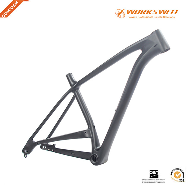 Workswell New arrival carbon fiber mountain bike frame 27.5er plus ...