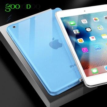 For iPad Mini 1 2 3 4 Case Mini 5 2019 Silicone Soft Back Shell Cover Ultra-thin Clear Gel  Skin Protector for iPad Mini 4 Coque