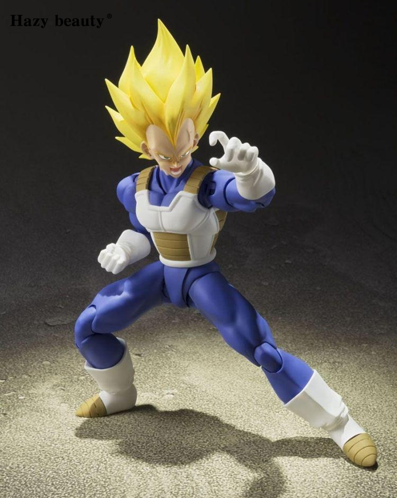 Hazy beauty SHF Super Sanyan SSJ Vegeta 2.0 PVC Action Figure Brinquedos Model Doll Toys