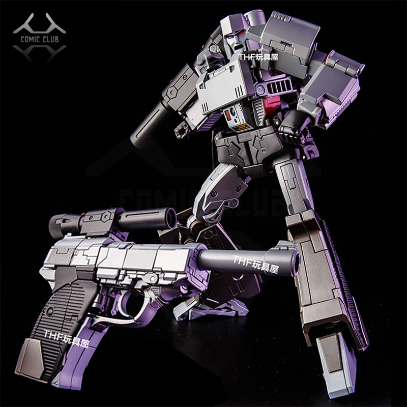 COMIC CLUB Toy House Factory THF MP-36 ko MP36 metal alloy contain Acoustooptic effect Transformation robot Action Figure