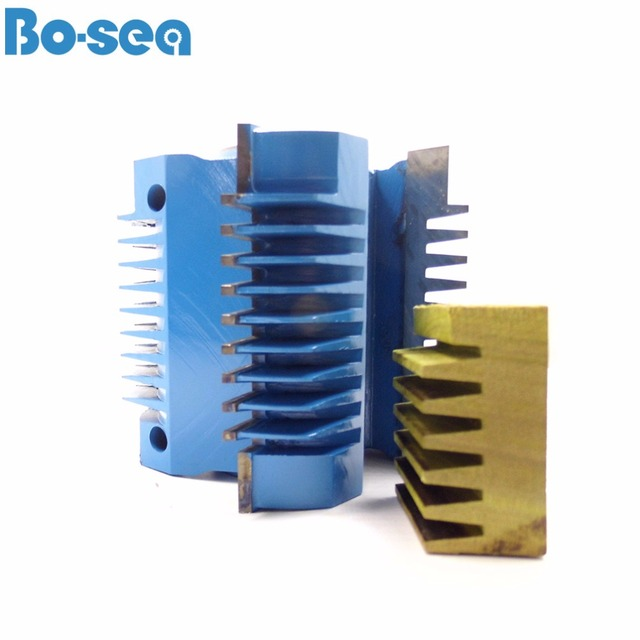 US $5 76 |4 Flutes Finger Joint Shaper Cutter For Woodworking Spindle  Moulder Cutter Head Hight Quality 4 Wings Can be Customized-in Milling  Cutter