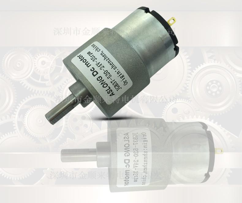 High Quality Motor Aslong Jgb37 520 Gear Motor Micro