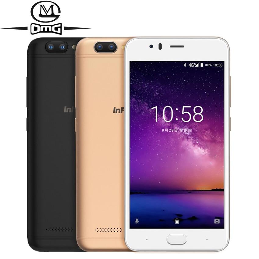 "Infocus A3 mobile phone 5.2"" LTE 4G smartphone 2GB +16GB 3050mAh Quad core phones fingerprint Dual came Android 7.0 cell phones-in Cellphones from Cellphones & Telecommunications"