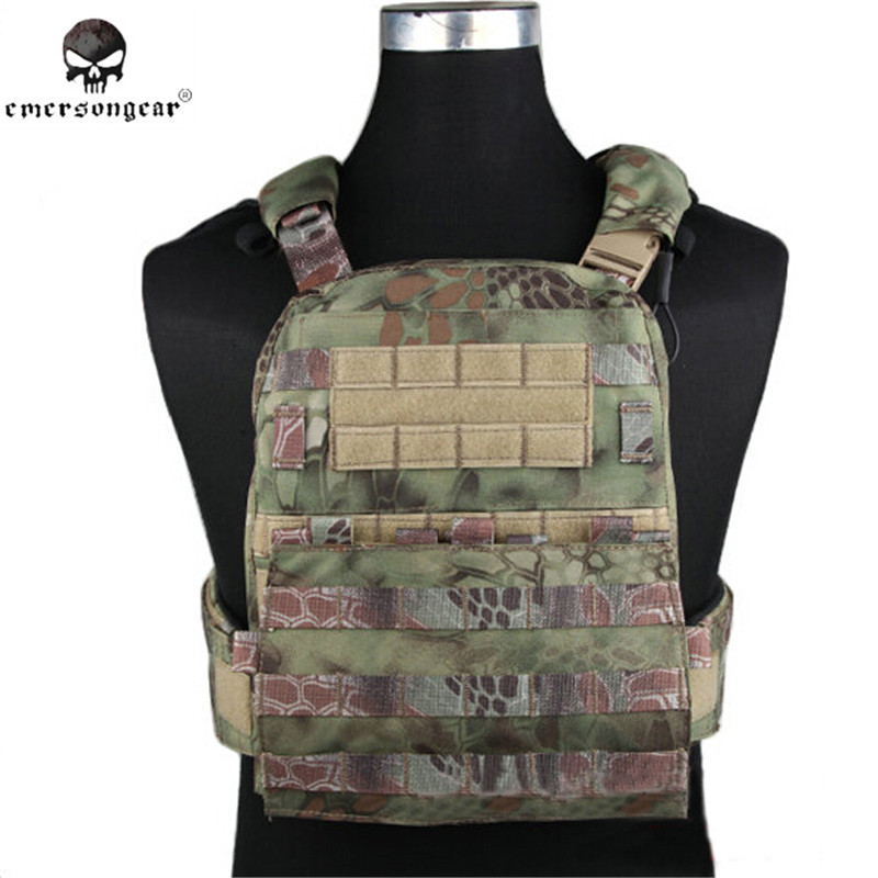EMERSON AVS Tactical Vest Plate Carrier Hunting Airsoft Military Combat Gear Molle Hunting Vest Heavy Version Outdoor Equipment yuetor outdoor hunting men airsoft combat assault plate carrier vest colete tatico militar tactical molle multicam military vest