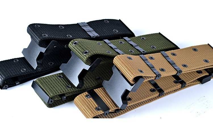 1Pc Adjustable Survival Tactical Belt Emergency Rescue Rigger Militaria Hunting belts ...