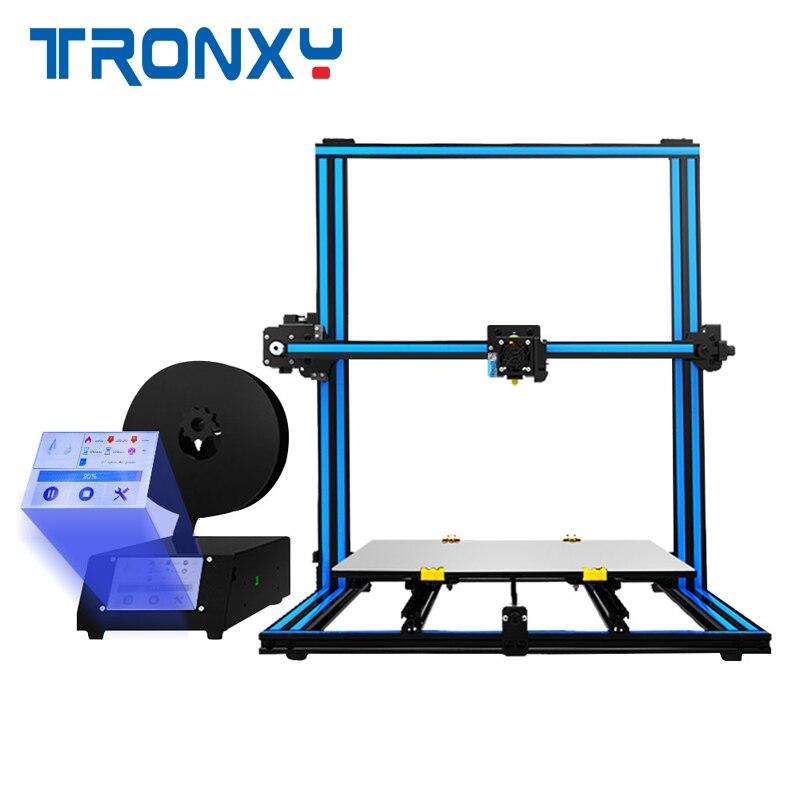 TRONXY X3SA-400 3.5 ''Tactile-Écran En Aluminium 3D Imprimante 400*400*420mm Impression/Auto- nivellement/Rusume Impression/Double Z-axe