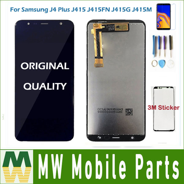 For Samsung Galaxy J4+ 2018 J4 Plus J415 J415F J415G J6 Plus 2018 J610 J410 J6 Prime LCD Display Touch Sensor Digitizer + kitFor Samsung Galaxy J4+ 2018 J4 Plus J415 J415F J415G J6 Plus 2018 J610 J410 J6 Prime LCD Display Touch Sensor Digitizer + kit