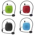 Mini Altavoz Amplificador Portátil con Micrófono de Voz Portátil/Batería/cable/cintura para Guía de Turismo/Docencia/Hablar en público