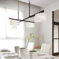 Скандинавские подвесные светильники повернуть Подвесная лампа на потолок для кухни современное освещение для дома свет крепление для люст