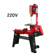 Woodworking Sawing Machine with Band Saw 220V 750W  Metal Band Saw with English Manual Wood Cutting Machine GFW5012 цена и фото