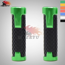 For Kawasaki Z650 Z 650 z650 CNC Aluminum Rubber motorcycle handlebar grips handle bar grip