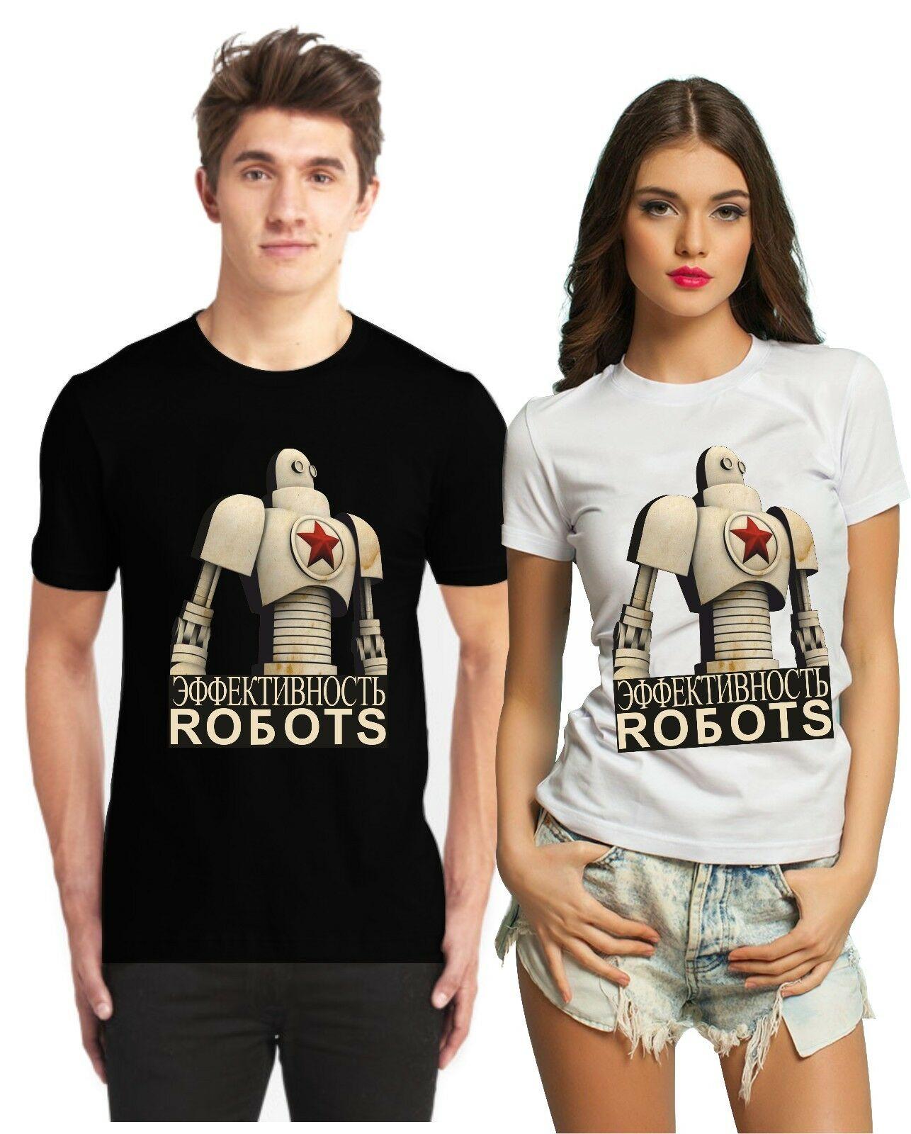 Cccp Soviet Propaganda T Shirt Ussr Russia Russian Hammer & Sickle Россия Robot Hoodies