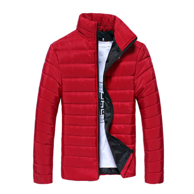 Winter Jacket Men 2016 Ultra Light Down Jacket Mens Parka Red Winter Down Coat Casual Outwear Clothing Male Plus Size 3XL 50