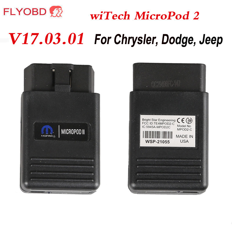 imágenes para 2017 Recién V17.04 MicroPod 2 Herramienta de Programación De Diagnóstico para Chrysler wiTech MicroPod 2 con HDD para Chrysler Diagnóstico Escáner