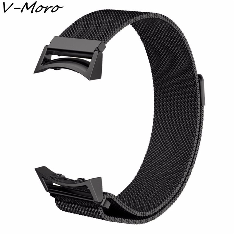 V-MORO 2017 Milanese Loop Strap For Samsung Gear S2 Watch Band Replacement Stainless Steel Mesh Band For Gear S2 With Adapter lord foresta umbra moro 50x50