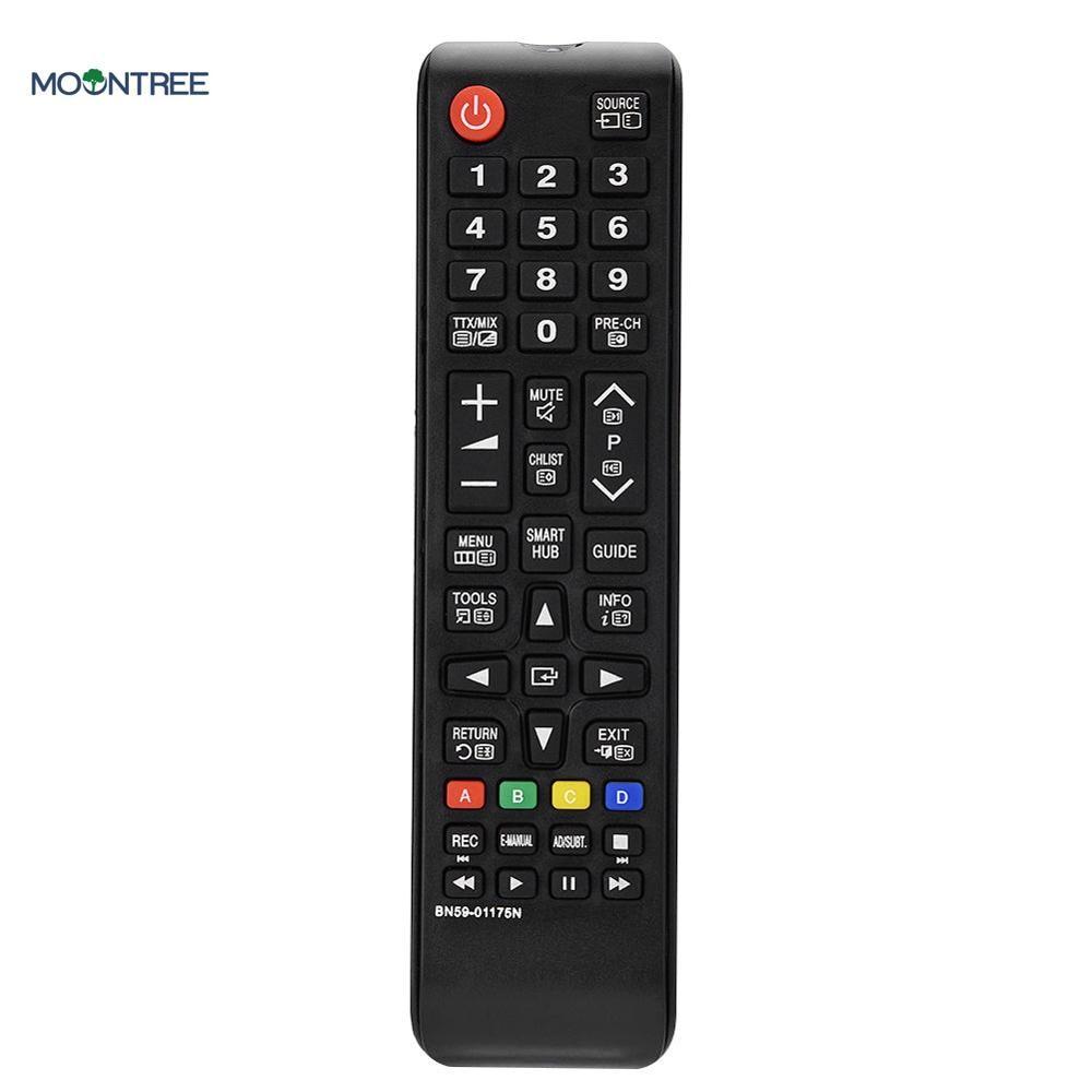 BN59-01175N универсальный пульт дистанционного управления для samsung Smart tv контроллер замена для BN59-01175P BN59-01175Q пульт дистанционного управления - Цвет: Черный