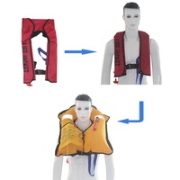 Manual Inflatable Life Jacket Swimwear Adult Swiming Fishing Life Vest Water Sports Professional Swimming Survival Jacket