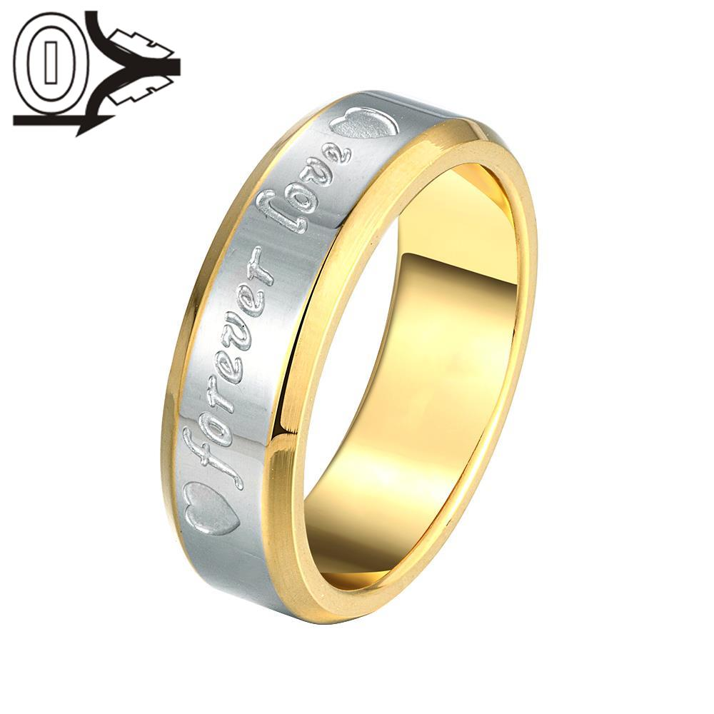 Christmas Gift Wholesale Silver-plated Ring,Silver Fashion Jewelry,Forever Love Steel Women&Men Gift Silver Jewelry Finger Rings