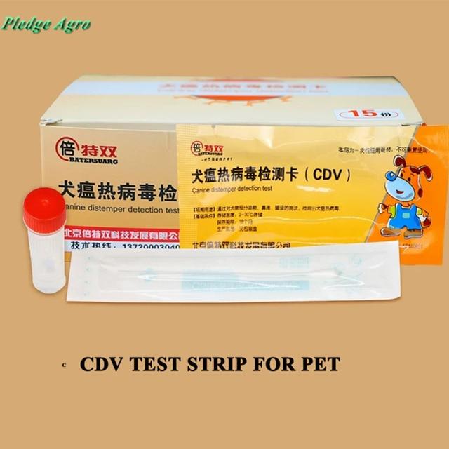 חיות Perro כלבלבת וירוס מבחן כרטיס רצועת וטרינרית אנטיגן מבחן חתול כלבים Parvovirus מבחן כרטיס (CPV)(Colloidal זהב שיטת)