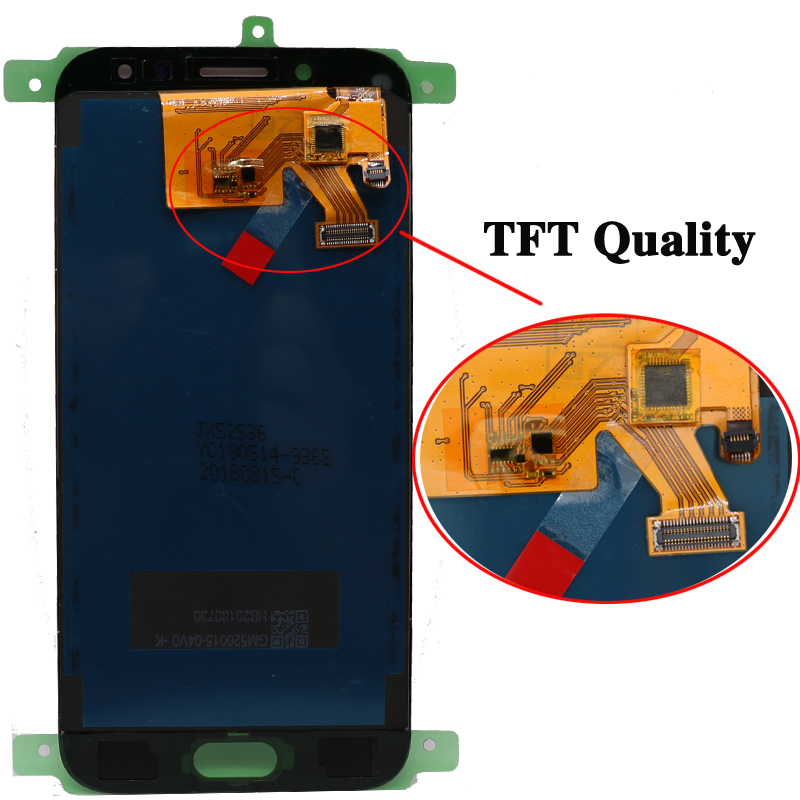 100% original SUPER AMOLED 5.2'' Replacement Display for SAMSUNG Galaxy J5 2017 J530 J530F Touch Screen Digitizer Assembly
