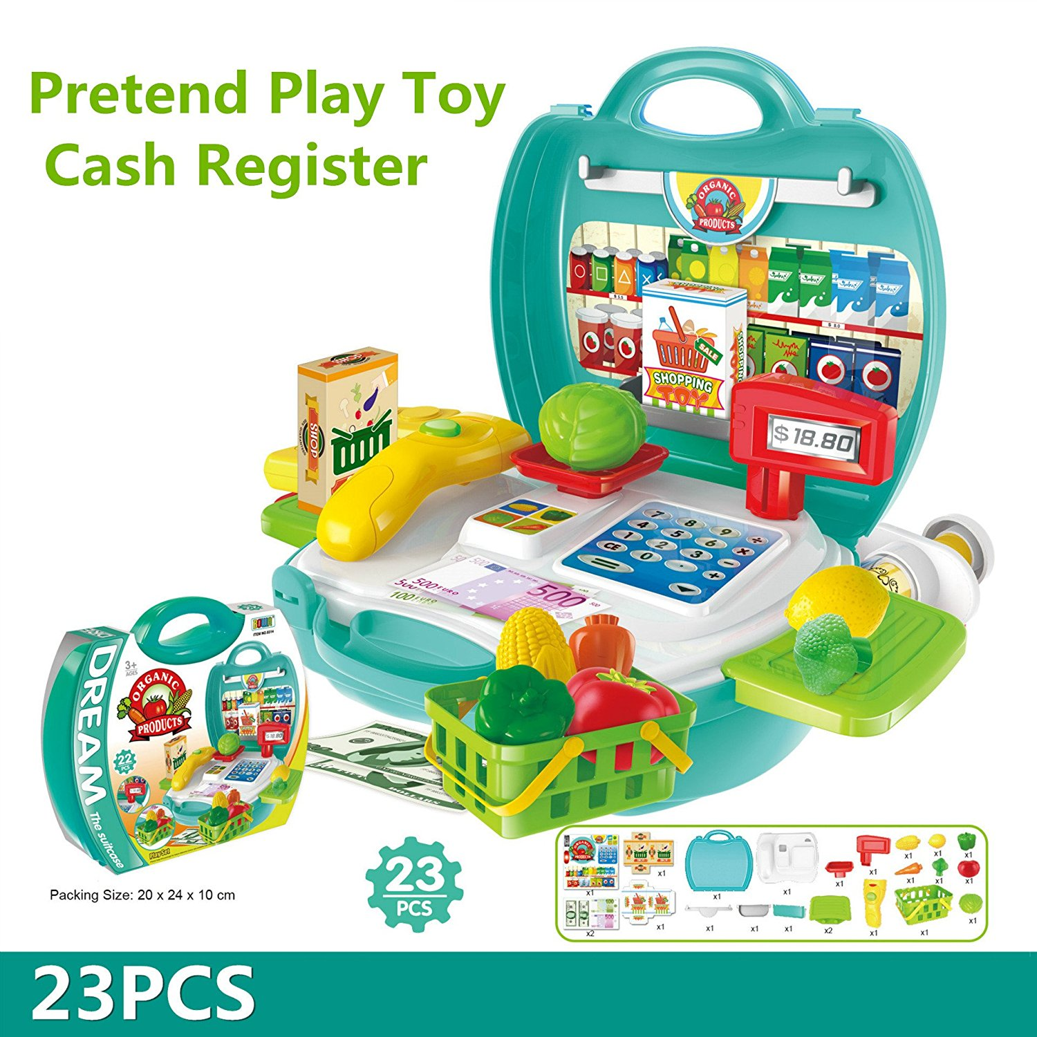 23Pcs Multi-functional Educational Role Play Pretend Play To
