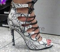 New White Snakeskin Dance Boots Ballroom LATIN Dance Shoes SALSA Dance Shoes Performance Dance Shoes All