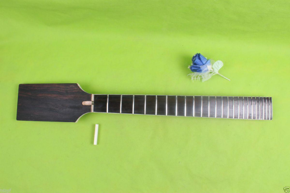 7 string electric guitar neck paddle Headstock Rosewood 24 fret 25.5 inch #1720 one tl electric guitar neck 25 5 inch 22 fret maple made and rosewood fingerboard bindding also have 21 fret
