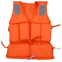 Полезный взрослых пены плавательный спасательный жилет с SOS свисток устройства предотвращения наводнения безопасности жилет