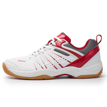 JINBEILE Table Tennis Shoes Wear Resistant Bottom with Bull Tendons and Air Permeability for Men Women