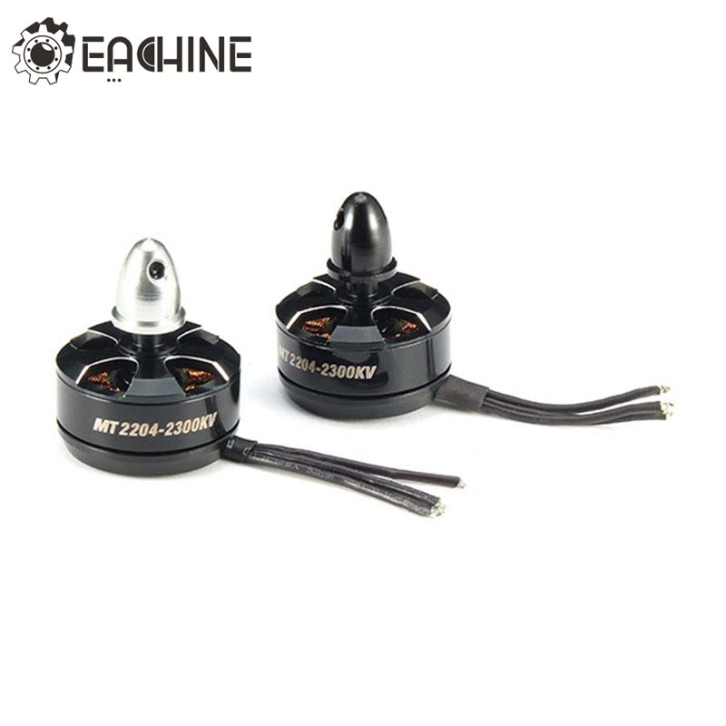 Eachine Falcon 210 210 Pro 250 250 Pro 2204 2300KV CW CCW Brushless Motor For RC Quadcopter Replacement Part Black free shipping oem brushless motor rc quadcopter cw ccw parts without silver black cap for cheerson quadcopter cx20 cx 20