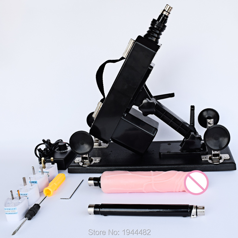 Automatic Sex Gun Vibrator Love Machines For Women Female Masturbation Sex Machine Automatic Retractable Pumping Gun
