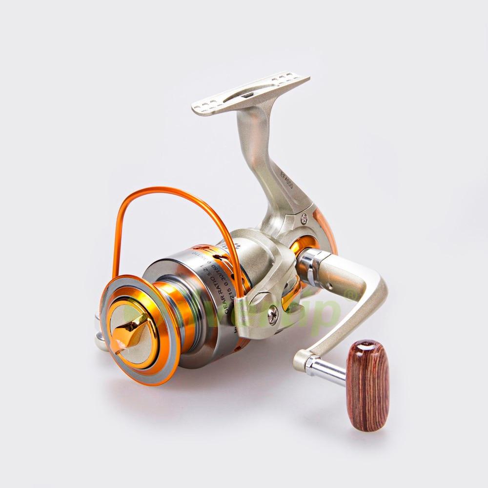 1 Ball Bearings Freshwater Saltwater Fishing PREMIUM EF-7000 Spinning Reel 12