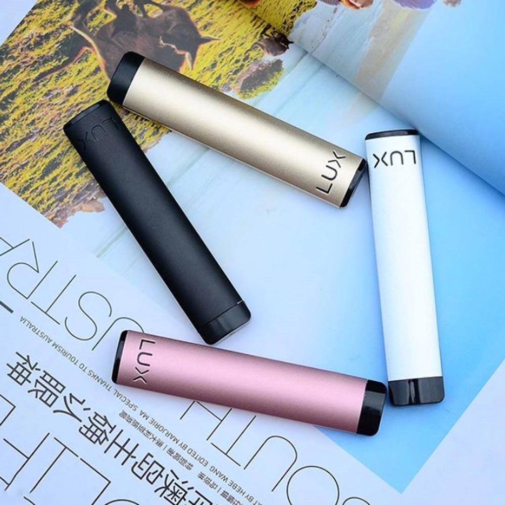 Kit de Vape d'origine WELLON LUX avec batterie intégrée 450mAh et Kit de recharge de 1.2ml pour dosette vs Kit kubi/Q16 Pro