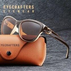8e3ed8bc1d0e 2018 Luxury Brand Design Cat Eye Polarized Sunglasses Womens Lady Elegant  Sun Glasses Female Driving Eyewear