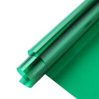 Green Decoration Solar Window Film Tint Sunshade Privacy Vinyl Heat Rejection Glass Window Sticker