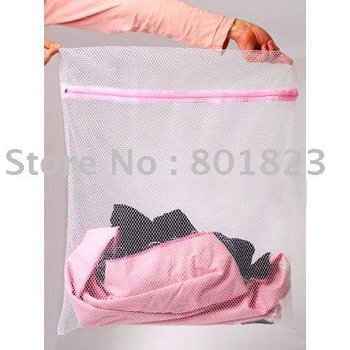 50pcs/lot(S),Washing bag protect clothes from wear and tear on the washing machine, suit clothes trousers socks,