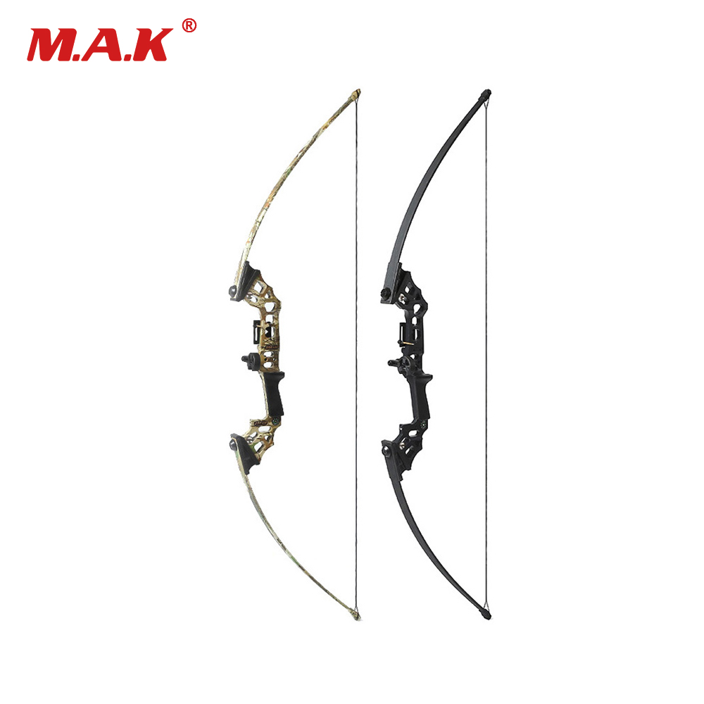 40 Lbs Straight Pull Bow Black/Camouflage for Right Handed for Compound Bow Archery Hunting Shooting Game Outdoor Sports shooting straight