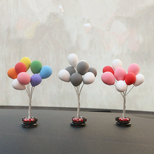 Creative Balloon Decoration Car Ornaments Auto Interior Accessories Birthday Gift Home Decor