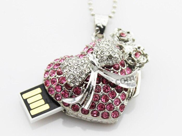free shipping mini usb stick pen drive pendrive women jewelry usb flash drive 4gb 8gb 16gb 32gb