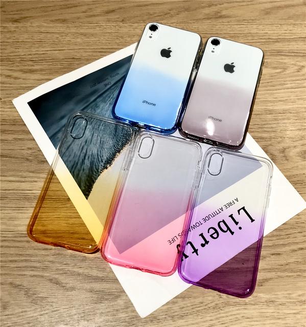 Premium Soft Rainbow Case For iPhone 5s