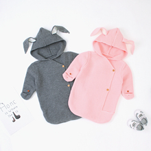 Get more info on the Cute Rabbit Envelope for Newborns Knitted Sleeping Bags Spring Autumn Winter Infant Swaddle Wrap Blanket Kids Stroller Sleepsack