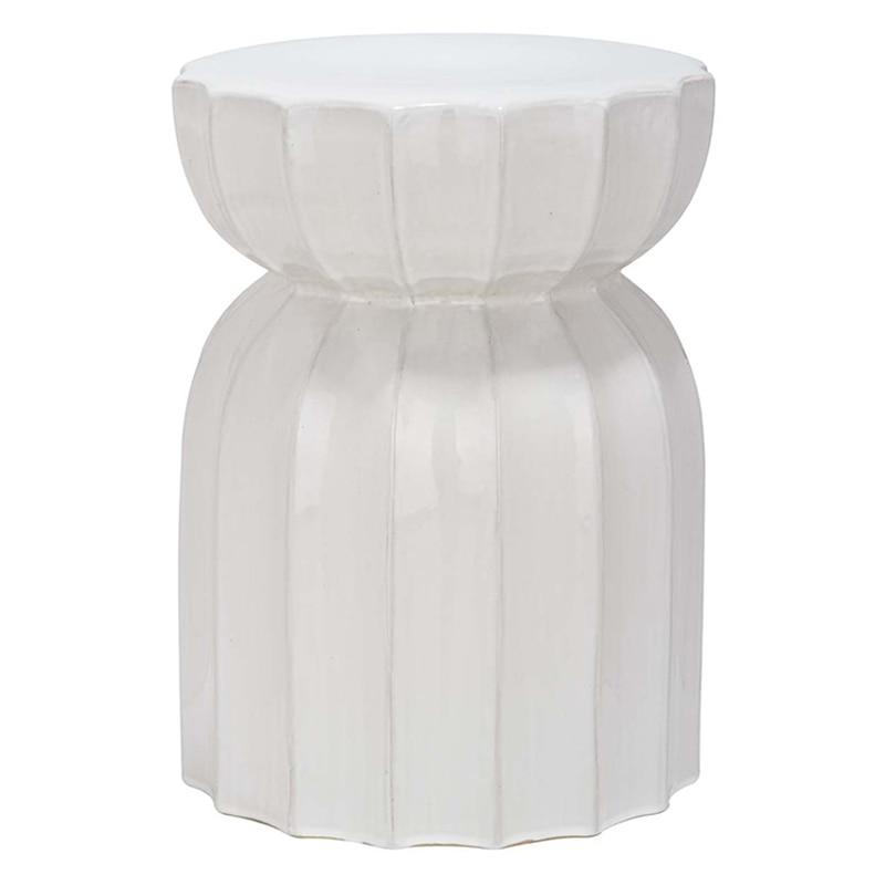 Ceramic Garden Stool DIA32 *H42.5 CM high quality rattan stool leisure dia32 h42 cm