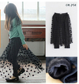 New fashion 2015 summer new cute baby girls dot gauze skirts short skirt bottoming pretty cute beautiful skirt