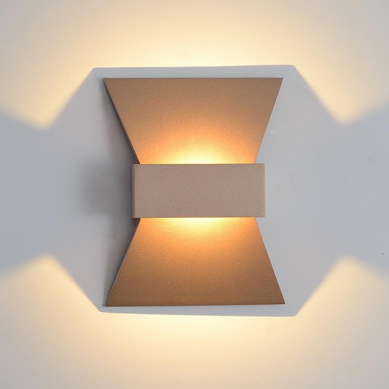 Modern LED wall lamp LED 10W wash wall light aluminum wall sconces lighting for living room home decoration warm white light цена 2017