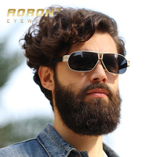 2017 AORON Polarized Sunglasses Men's Leisure Glasses Classic Design UV400 Sun Goggle oculos Male Cool Eyewear Accessories
