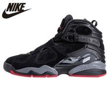 b1df7577863b NIKE Air Jordan 8 Cement Black Men s Basketball Shoes Sneakers