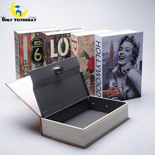 Dictionary Secret Storage Book Money Hidden Safe Cash Jewellery Locker Box Collection Case With Password/Key Lock Piggy Bank