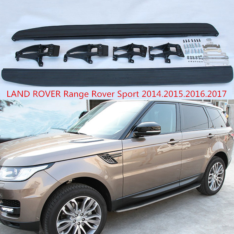 For LAND ROVER Range Rover Sport 2014.2015.2016.2017 Car Running Boards Side Step Bar Pedals High Quality Brand New Nerf Bars