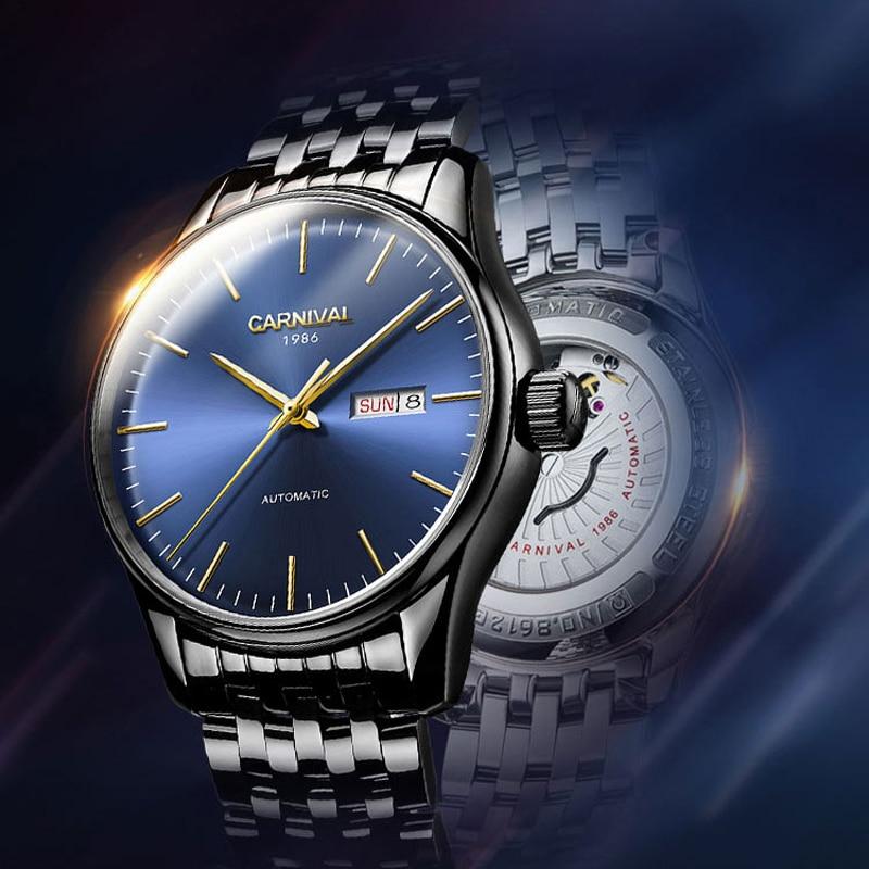 100% QualitäT Männer Uhren Schweiz Marke Luxus Wasserdichte Sport Automatische Mechanische Edelstahl Militär Uhr Männer Uhr Relogio